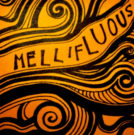 Mellifluous: (of a voice or words) sweet or musical; pleasant to hear.