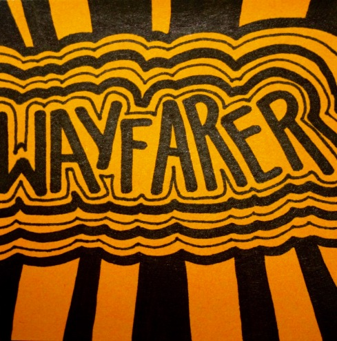 Wayfarer: a person who travels on foot.
